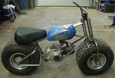 All tacked up! Mini Bike, Mini Motorbike, Motorcycle Bike, Go Kart Kits, Homemade Go Kart, Homemade Motorcycle, Go Kart Buggy, Drift Trike, Motorized Bicycle