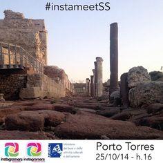 Il primo Instameet lanciato da Instagramers Sassari community locale dell'associazione Instagramers Italia  #TurrisLibisonis #portotorres #igersassari