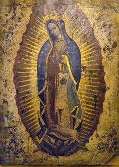 Lady Guadalupe.  She has been my primary spiritual guide for the last seven years.  I can't believe it, but it seems this is changing and Isis is the Goddess who most often comes forward now to share her wisdom.  I wonder what that says about my energy?