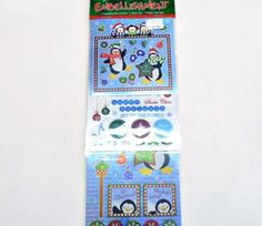 Penguin Sticker Embellishments on sale for R45/10 sheet | Paradise Creative Crafts cc