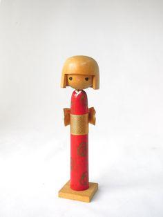 Japanese Wooden Doll kokeshi