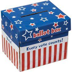 Let's Vote Ballot Box