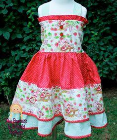 Strawberry Shortcake party dress
