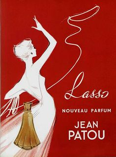 Lasso, Jean Patou perfume, 1950s (by Addie ♥, via Flickr).