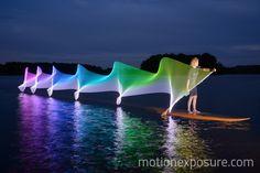 Paddleboarding motion by Stephen Orlando