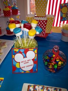 Mickey Mouse 1st Birthday  | CatchMyParty.com