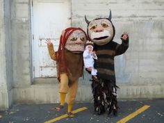 Where the Wild Things Are Group Costumes #halloween #monster #Max