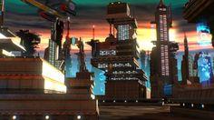 3D model: Sci Fi City by ruslans3d