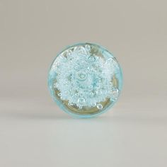 One of my favorite discoveries at WorldMarket.com: Small Light Blue Glass Bubble Knobs, Set of 2