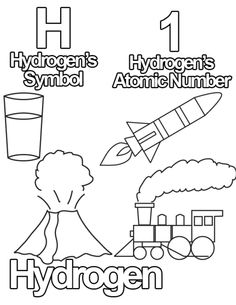 Free Coloring Pages from The Periodic Table of...