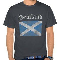 #Scotland Vintage T-Shirt. #tshirts