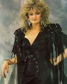 Bonnie Tyler - my style and music icon <3