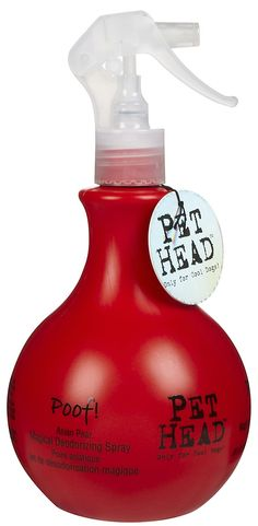 Pet Head Poof! Magical Deodorizing Spray   smells sooo good!