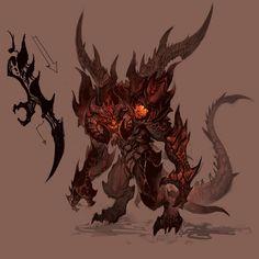 Diablo III - Diablo Concept 1