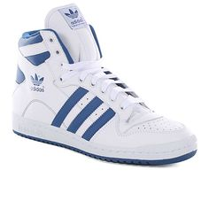 Adidas Originals Decade Hi Shoes - White/blue