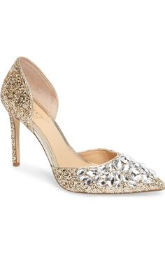 a8cbb71e707 Jewel Badgley Mischka Upton Embellished Pump (Women)