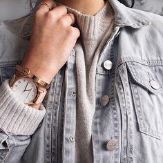 Layers on layers today. ❄️ shop the watch here: http://liketk.it/2pBSU #liketkit