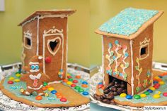 Gingerbread House Designs, Christmas Gingerbread House, Christmas Crafts, Xmas, Christmas Is Coming, Food Festival, Cake Decorating, Projects To Try, Houses