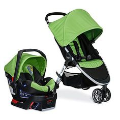 Traveling with baby is a breeze with the BRITAX B-Agile/B-Safe 35 Travel System. Convenient Click & Go design allows you to directly attach the included B-Safe 35 Infant Car Seat to the stroller to adapt to your growing family's on-the-go needs. Britax Double Stroller, Car Seat And Stroller, Double Strollers, Baby Car Seats, Baby Strollers, Travel Stroller, Britax B Agile, Rear Facing Car Seat, Bebe
