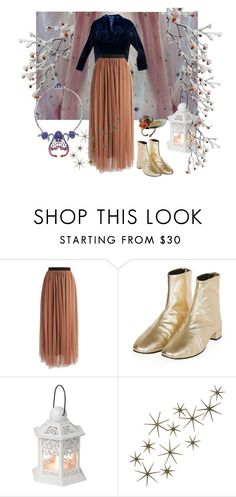 """Mazzy Star"" by lealeo ❤ liked on Polyvore featuring Chicwish, Topshop and DwellStudio"