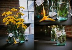 http://www.lanephotographyonline.com | Nashville Wedding Photographers | Marathon Village | Lindsay + David | wedding ideas for runners, wedding ideas for small weddings, simple wedding ideas, paper crane wedding, nashville wedding