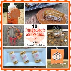 10 Fall Projects and Recipes by The Casual Craftlete