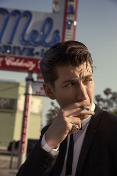 |Alex Turner, Arctic Monkeys| I love the whole 50's vibe he's got going. And his voice is so old school sounding too.