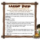 This has to be my student's favorite math game. I've made 3 different boards with a Camper theme. The focus is practicing with number words, tallie...