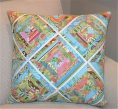 quilted pillow - I have to learn how to do this pattern and what better way than with a pillow.