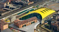 The Enzo Ferrari Museum // Modena, Italy