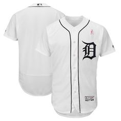 Detroit Tigers Majestic 2018 Mother s Day Home Flex Base Team Jersey – White  Baseball Sunglasses ce84c3ce4