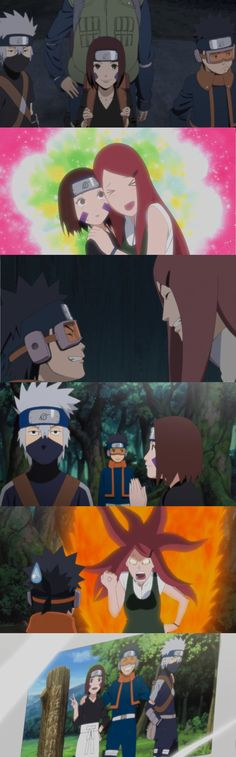 The Far Reaches of Hope, Team Minato, so his wife is like a mom for them... <3