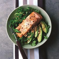 Japanese-style salmon recipe. What makes this Japanese salmon dish is the mix of soy sauce, sesame oil and ginger.