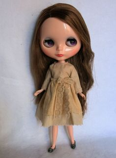 Dress for blythe custom doll by GarlenaShop on Etsy