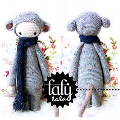 Crochet Pattern Doll RADA the rat PDF by lalylala on Etsy, €5.50