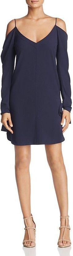 Cosette Ferris Cold-Shoulder Dress