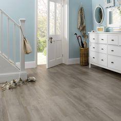Smart looking wood effect laminate flooring for kitchen Laminate Flooring In Kitchen, Hallway Flooring, Hardwood Floors, Luxury Vinyl Flooring, Luxury Vinyl Tile, Open Bathroom, Opus, Real Wood, Living Spaces