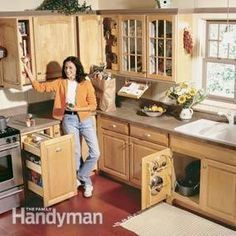 kitchen ideas-drawers for pots & pans