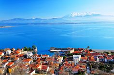 Mind-Blowing Photos From Scenic Locations Around The World The Places Youll Go, Places To See, Greek Islands, Globes, San Francisco Skyline, Sailing, Greece, Beautiful Places, Scenery
