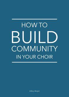 How to build communi