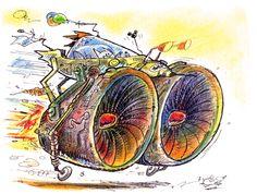 De la serie de Batinaves / Ilustración: Clemente Montag