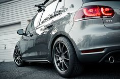 VW GTI by Zachary Repp, rocking Eibach Springs!