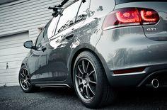 VW GTI by Zachary Repp, rocking Eibach Springs!