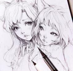 Ladowska manga art, anime art, pencil drawings, drawing sketches, art d Art Anime, Anime Kunst, Manga Art, Art And Illustration, Drawing Sketches, Art Drawings, Pencil Drawings, Drawing Drawing, Anime Sketch