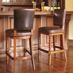 Lancaster Bar Height Bar Stool (30'H seat)