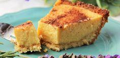 Gluten-free banting milk tart