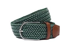 The Richard Sharpe, This Green and White striped woven belt is more than just a belt. I could image our good friend Richard Sharpe wearing this belt his down time or for a smart casual dinner party. Casual Dinner Parties, Woven Belt, Smart Casual, Green, Party, How To Wear, Bags, Accessories, Collection