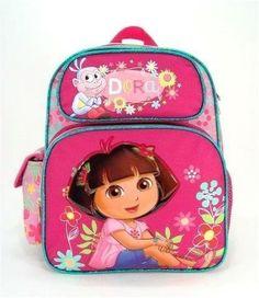Dora the Explorer Toddler 12 Backpack  Sunflower ** Click on the image for additional details.