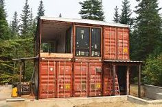 Amazing Container Residences , A delivery container is similar to a blank canvas, allowing you to unleash your creative side. Before you acquire a delivery container for your new ho. Container Home Designs, Container Homes For Sale, Building A Container Home, Building A Tiny House, Container Buildings, Container House Plans, Container Van, Container Architecture, Build House
