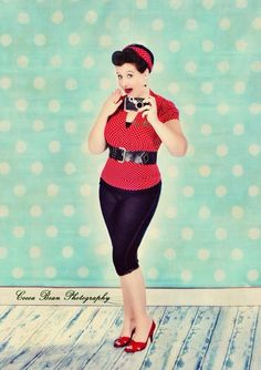Fun pin up
